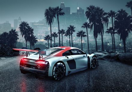 Wallpaper mural Audi R8 Los Angeles